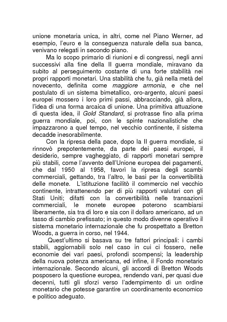 Anteprima della tesi: La BCE (Banca Centrale Europea), Pagina 3