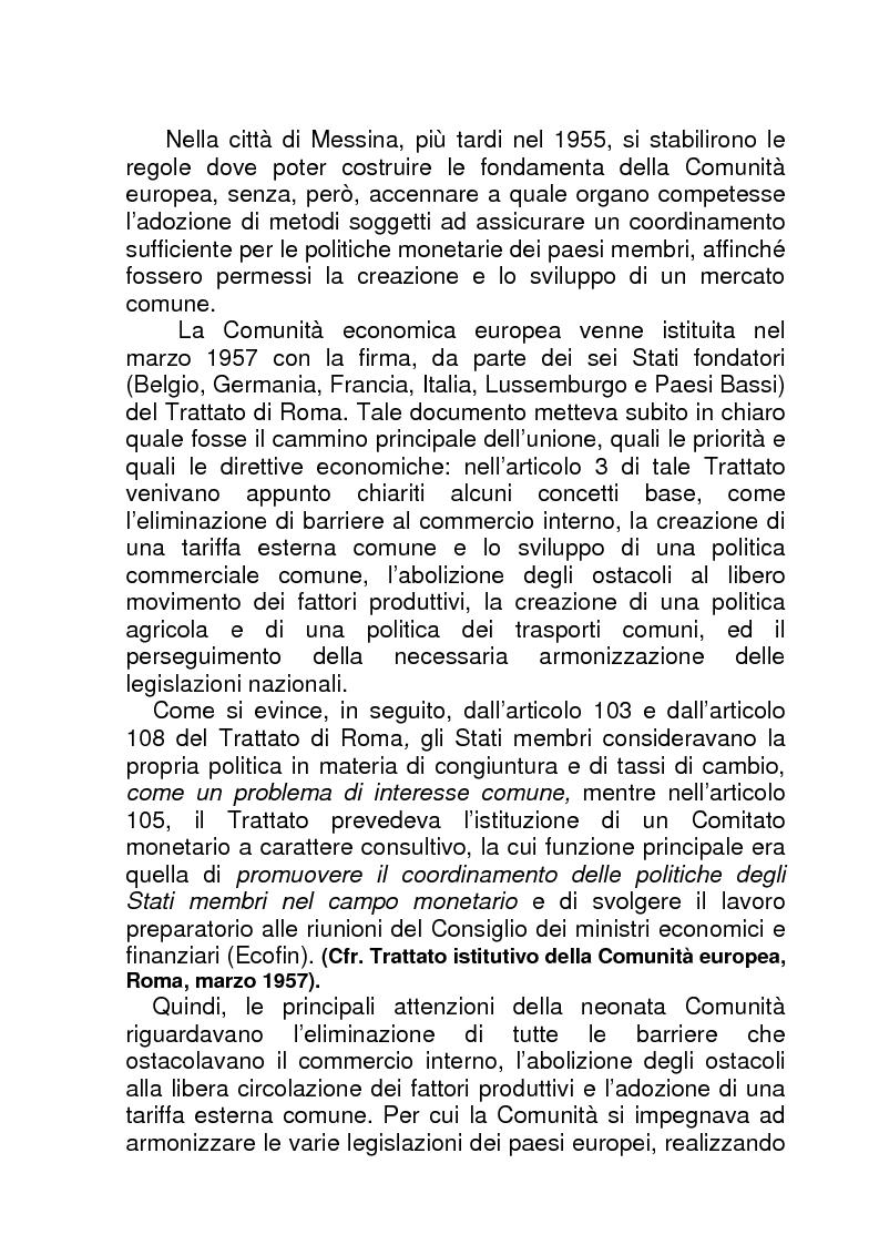 Anteprima della tesi: La BCE (Banca Centrale Europea), Pagina 4