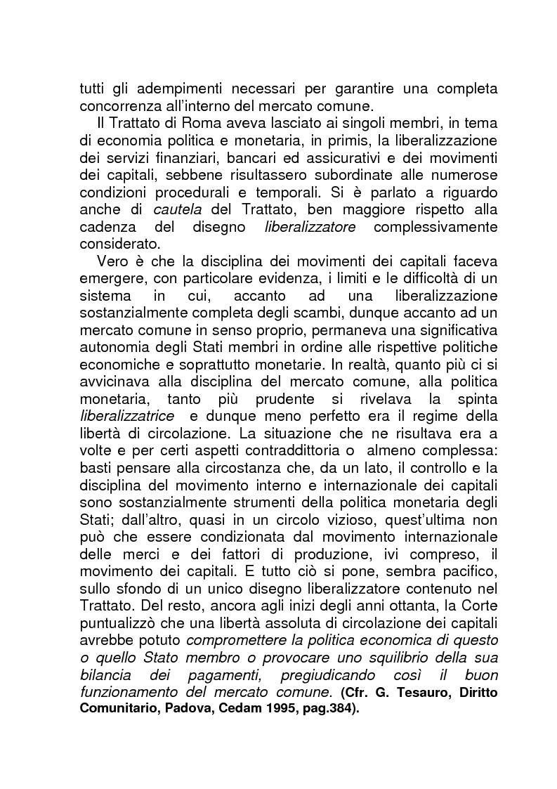 Anteprima della tesi: La BCE (Banca Centrale Europea), Pagina 5