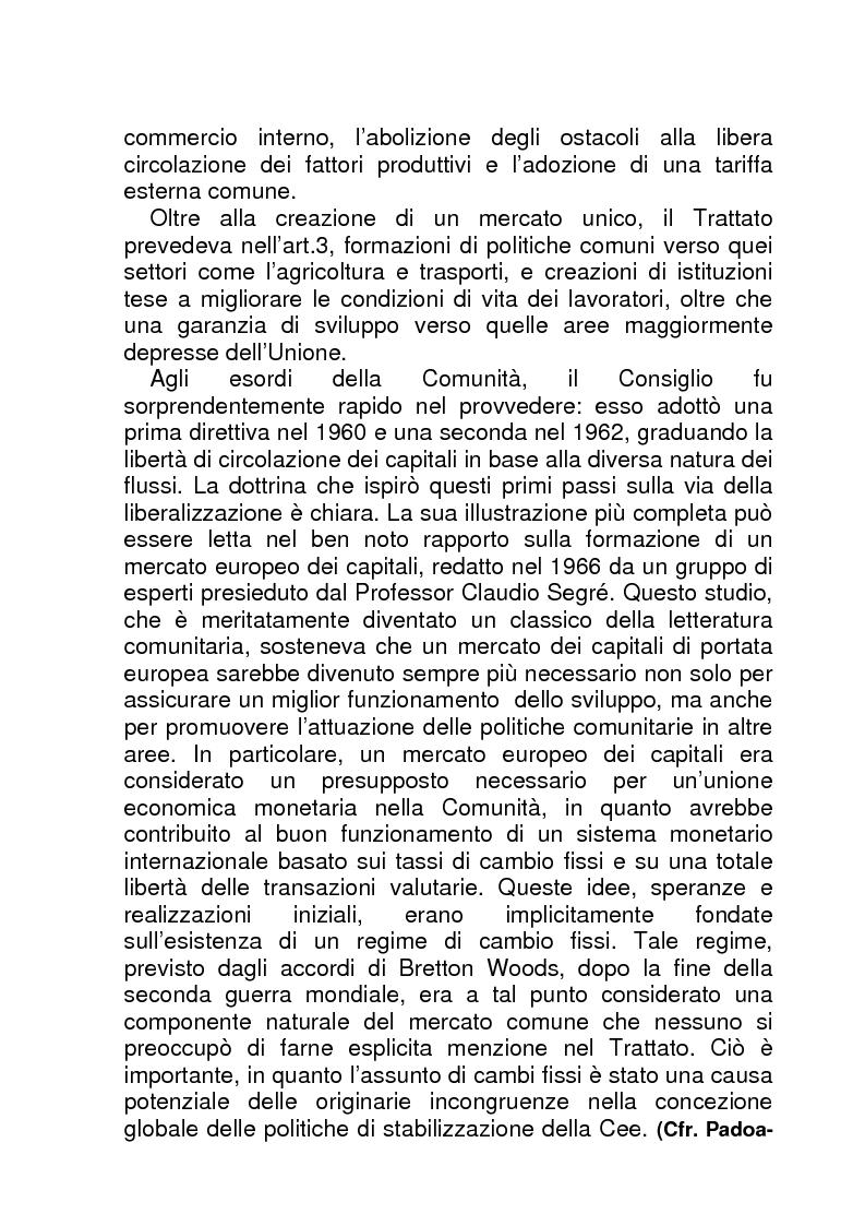 Anteprima della tesi: La BCE (Banca Centrale Europea), Pagina 7