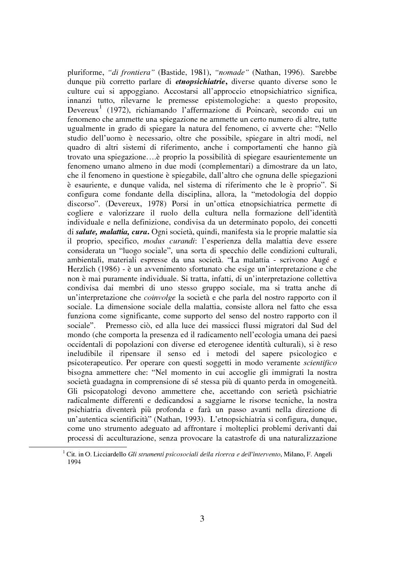 Anteprima della tesi: Percorsi della migrazione. Un'esperienza con la comunità nigeriana di Palermo, Pagina 3