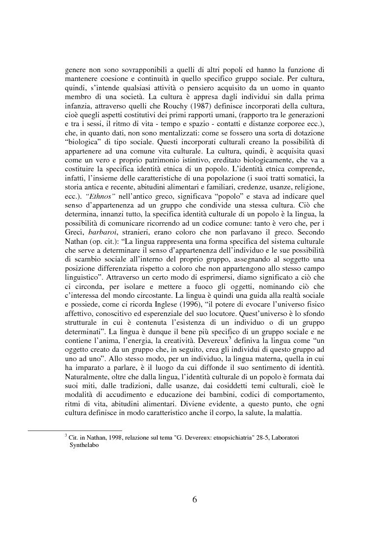 Anteprima della tesi: Percorsi della migrazione. Un'esperienza con la comunità nigeriana di Palermo, Pagina 6