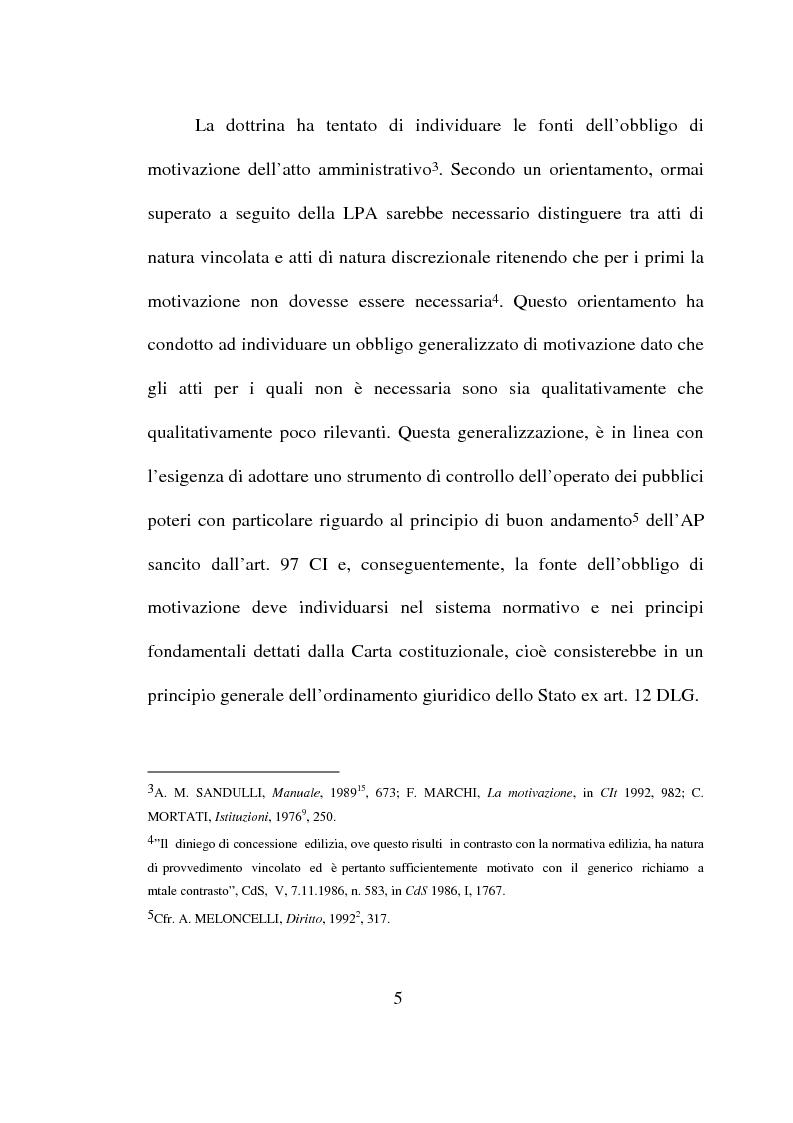 Anteprima della tesi: Atto amministrativo: motivazione e prova. L'autotutela nel diritto tributario, Pagina 2