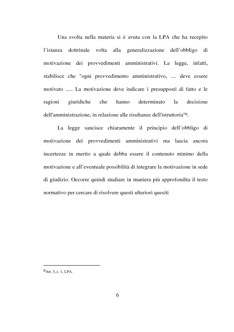 Anteprima della tesi: Atto amministrativo: motivazione e prova. L'autotutela nel diritto tributario, Pagina 3