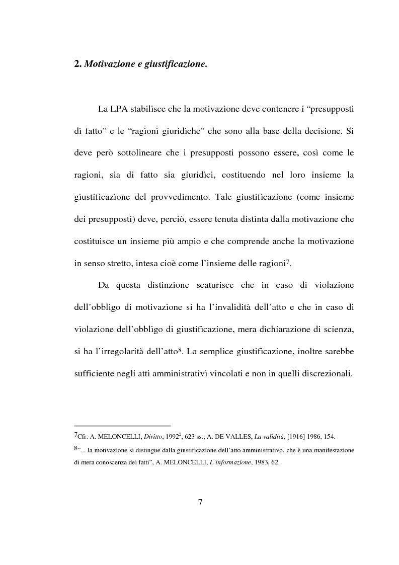 Anteprima della tesi: Atto amministrativo: motivazione e prova. L'autotutela nel diritto tributario, Pagina 4