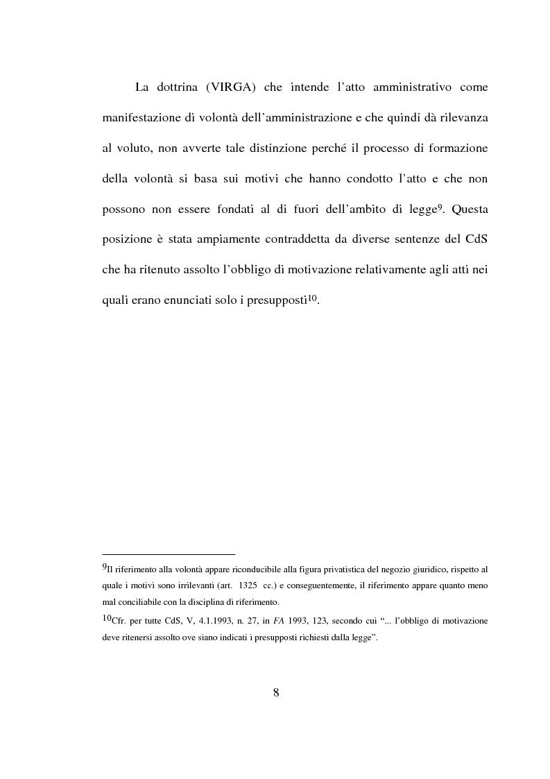 Anteprima della tesi: Atto amministrativo: motivazione e prova. L'autotutela nel diritto tributario, Pagina 5