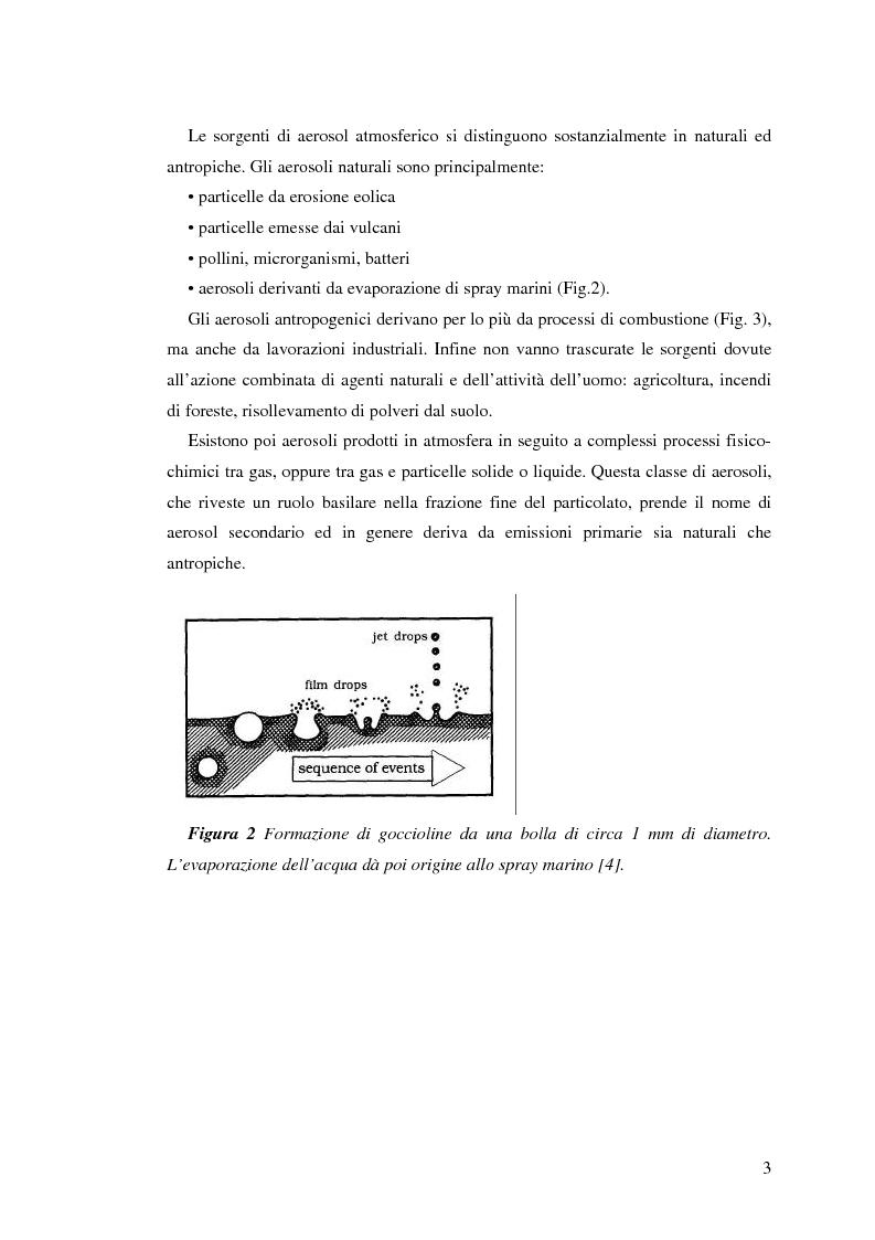Anteprima della tesi: Indagine sulla frazione fine del particolato atmosferico, Pagina 5
