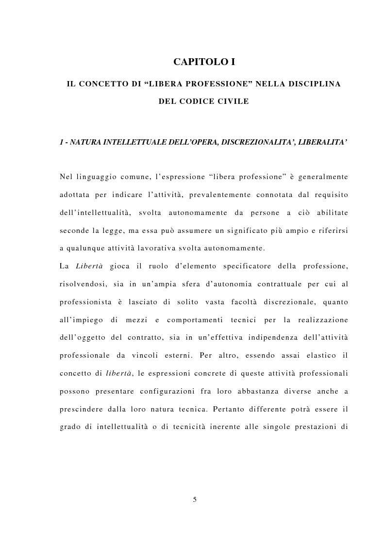Anteprima della tesi: La responsabilità civile dell'avvocato, Pagina 1