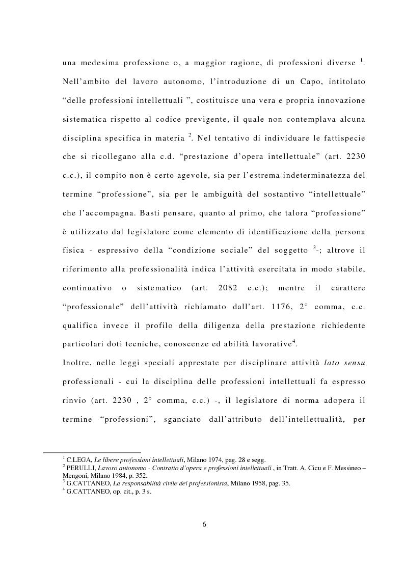 Anteprima della tesi: La responsabilità civile dell'avvocato, Pagina 2