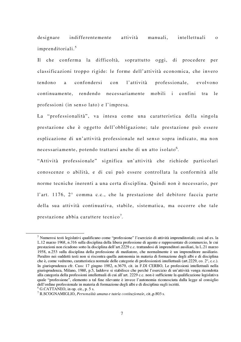 Anteprima della tesi: La responsabilità civile dell'avvocato, Pagina 3