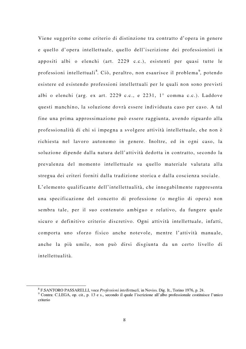 Anteprima della tesi: La responsabilità civile dell'avvocato, Pagina 4