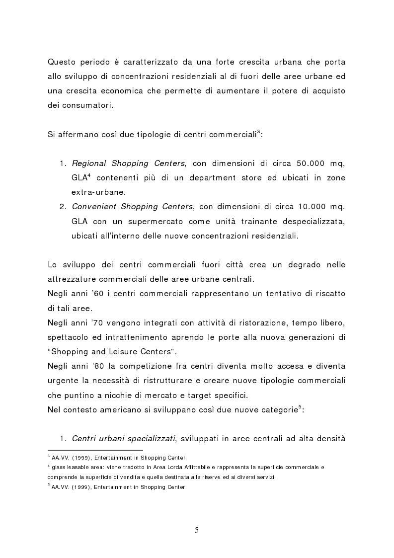 Anteprima della tesi: Il marketing del centro commerciale: un approccio relazionale, Pagina 10