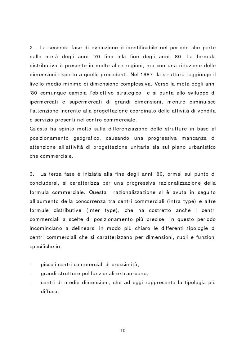 Anteprima della tesi: Il marketing del centro commerciale: un approccio relazionale, Pagina 15