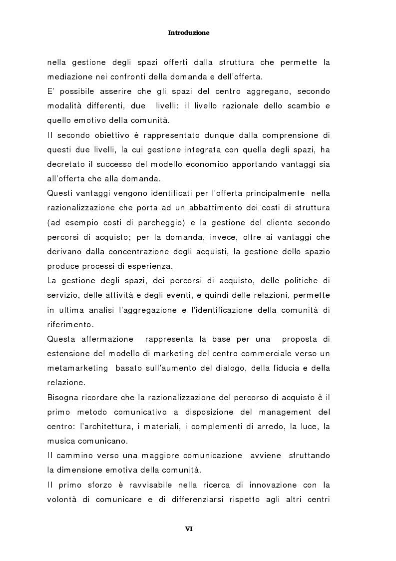 Anteprima della tesi: Il marketing del centro commerciale: un approccio relazionale, Pagina 2