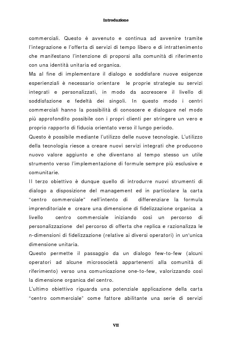 Anteprima della tesi: Il marketing del centro commerciale: un approccio relazionale, Pagina 3