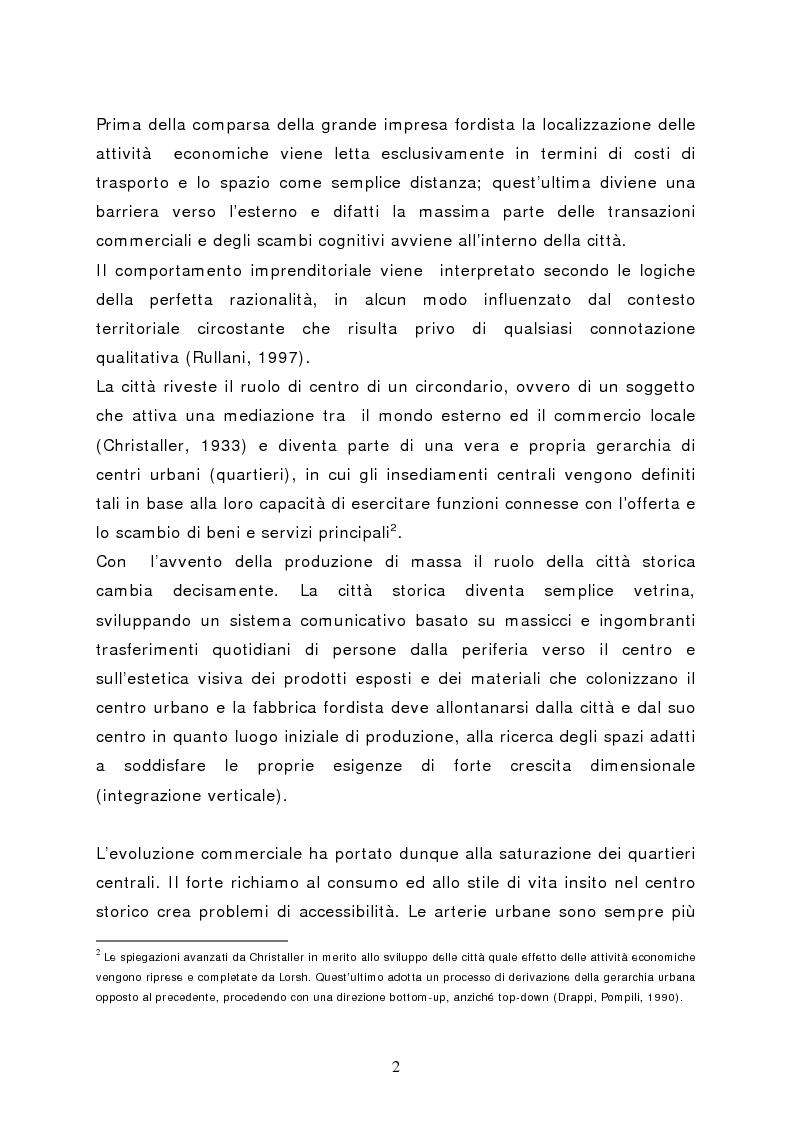 Anteprima della tesi: Il marketing del centro commerciale: un approccio relazionale, Pagina 7