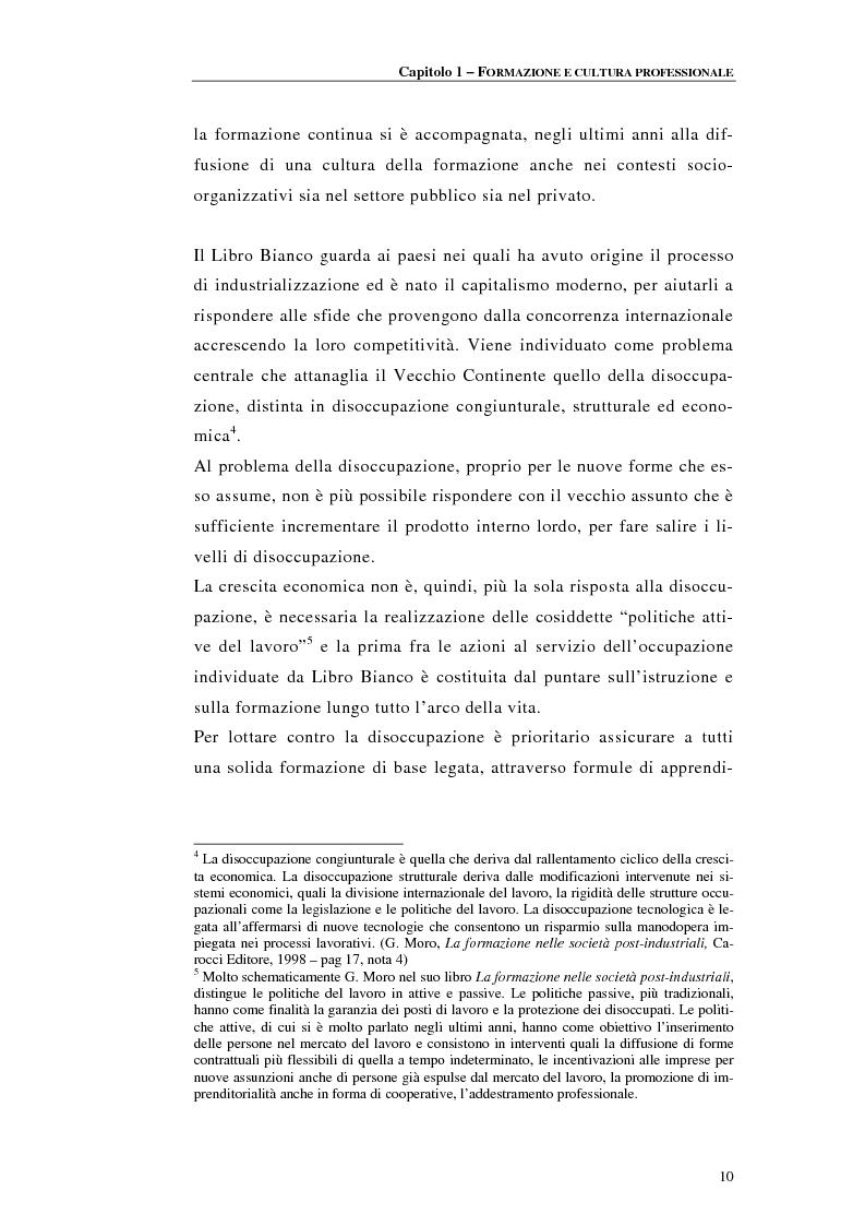 Anteprima della tesi: Procedure di accreditamento e certificazione dei centri di formazione professionale, Pagina 10