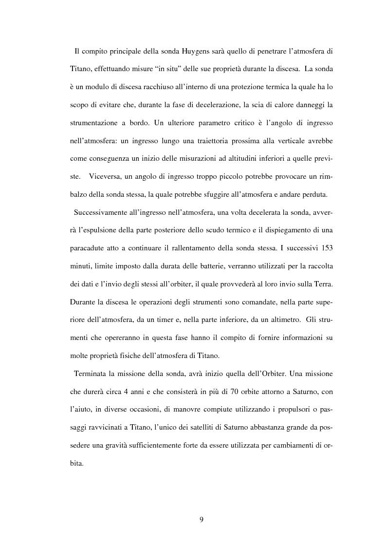 Anteprima della tesi: Calibrazione a terra dello strumento VIMS-V, Pagina 9