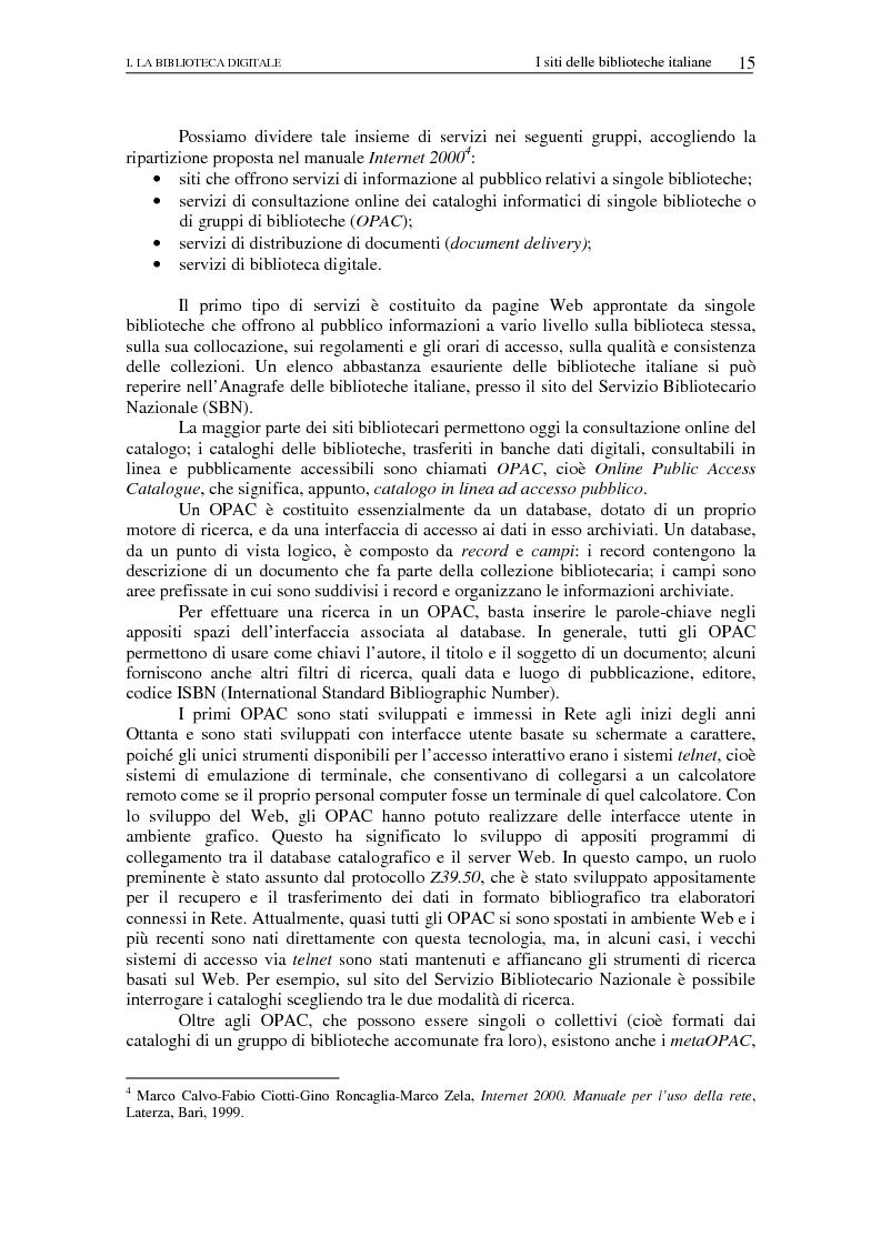 Anteprima della tesi: Nuovi spazi dello scrivere. Analisi delle risorse Internet italiane dedicate alla letteratura, Pagina 10