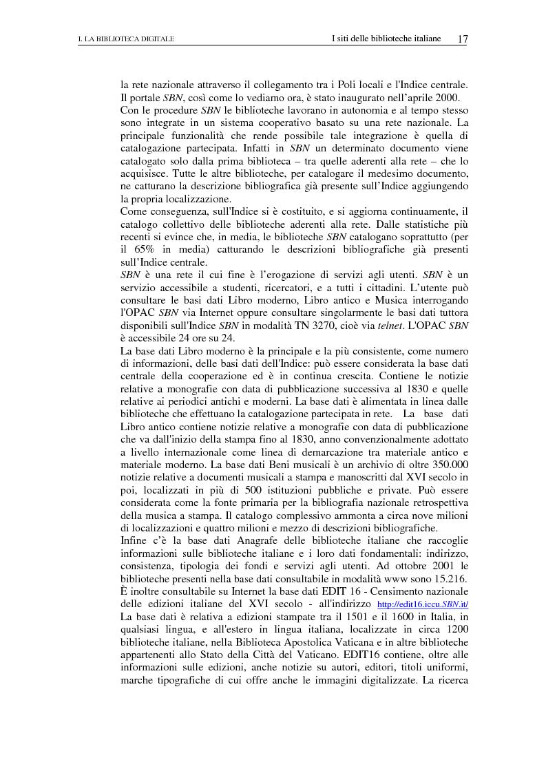 Anteprima della tesi: Nuovi spazi dello scrivere. Analisi delle risorse Internet italiane dedicate alla letteratura, Pagina 12
