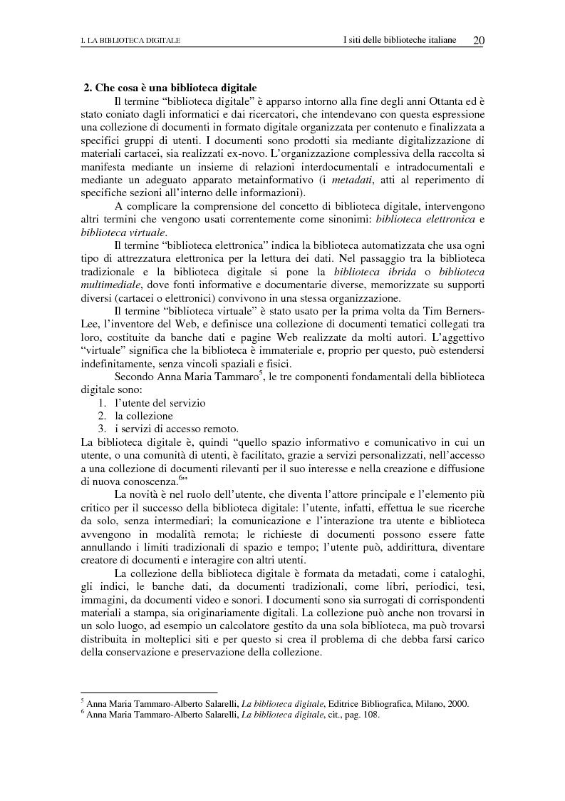 Anteprima della tesi: Nuovi spazi dello scrivere. Analisi delle risorse Internet italiane dedicate alla letteratura, Pagina 15