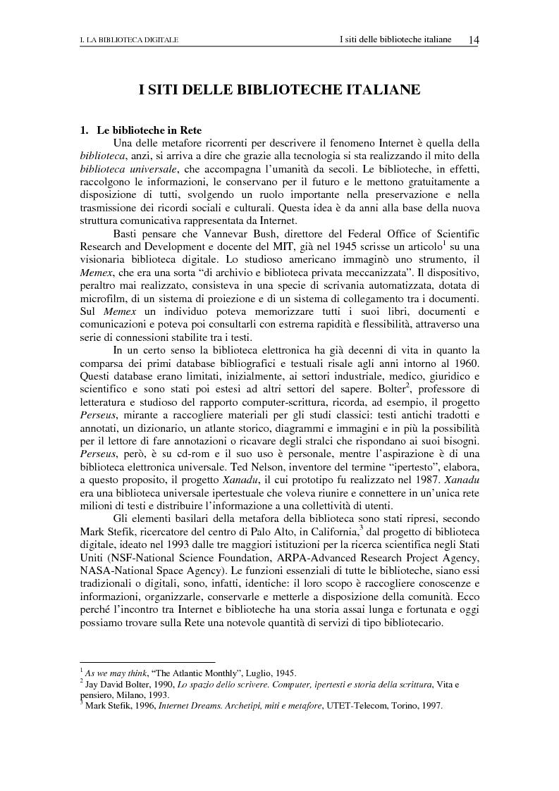 Anteprima della tesi: Nuovi spazi dello scrivere. Analisi delle risorse Internet italiane dedicate alla letteratura, Pagina 9