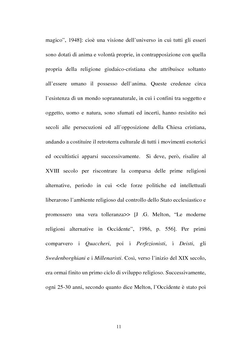 Anteprima della tesi: Nuove forme culturali religiose e giovanili: la New Age, Pagina 9