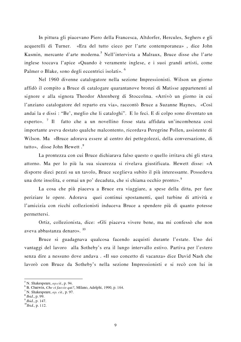 Anteprima della tesi: Nomadismo e sedentarietà nella narrativa di Bruce Chatwin, Pagina 5