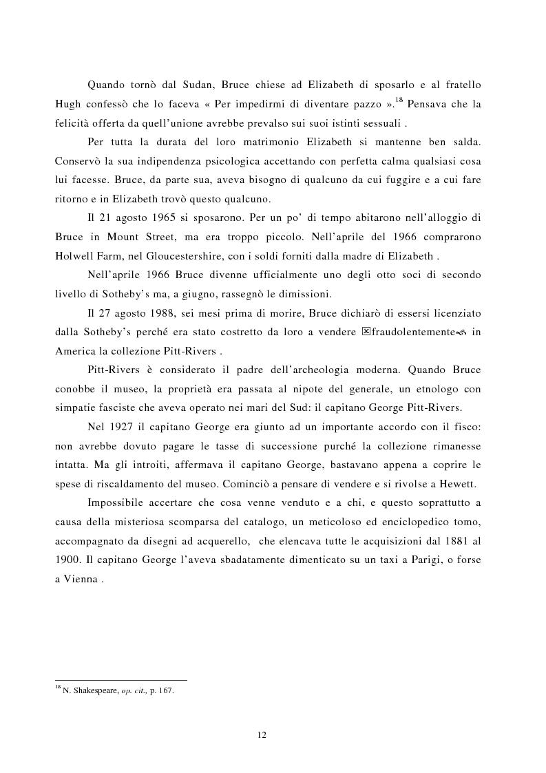 Anteprima della tesi: Nomadismo e sedentarietà nella narrativa di Bruce Chatwin, Pagina 8