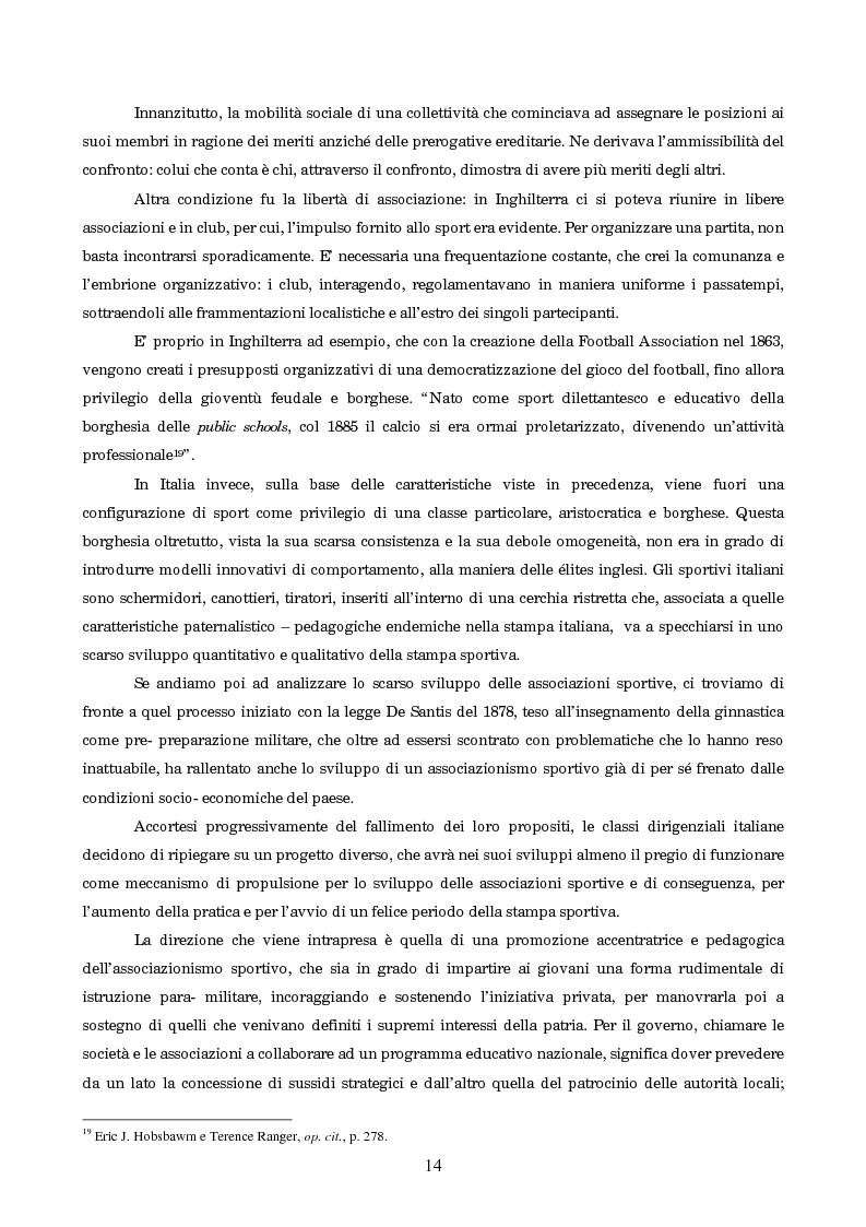 Anteprima della tesi: Un secolo in testa al gruppo: cenni di storia della Gazzetta dello Sport, Pagina 10