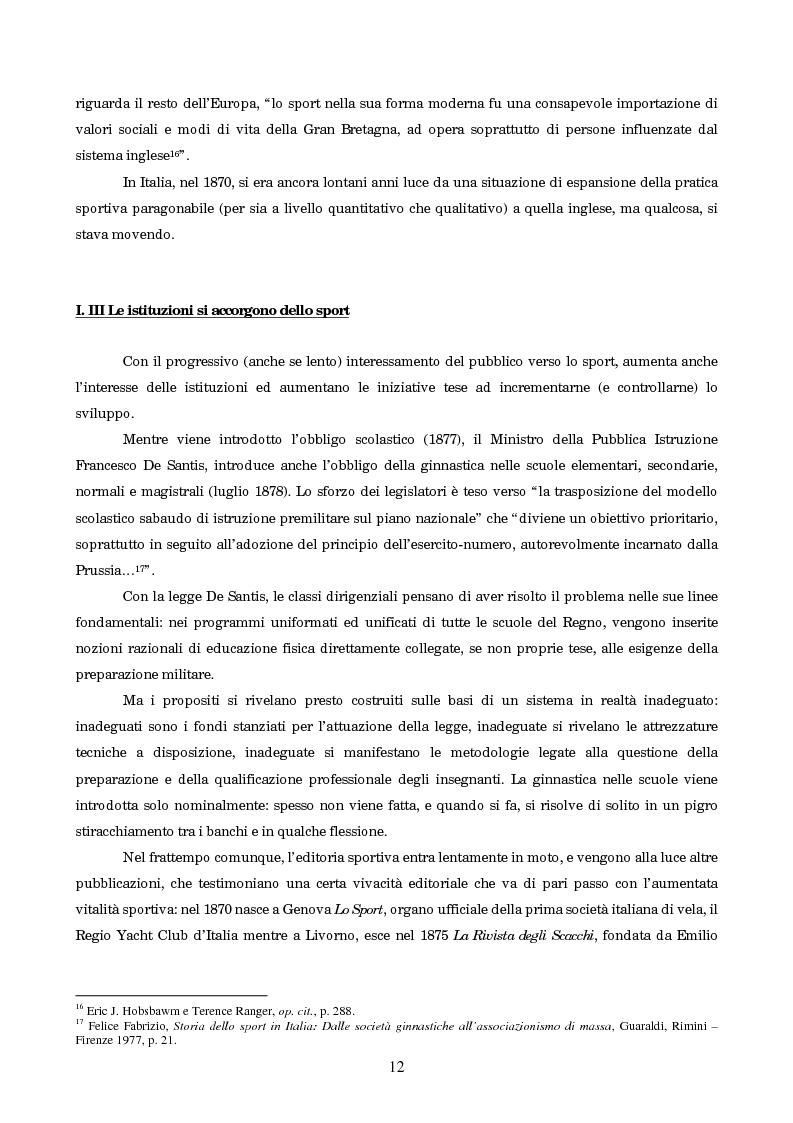 Anteprima della tesi: Un secolo in testa al gruppo: cenni di storia della Gazzetta dello Sport, Pagina 8