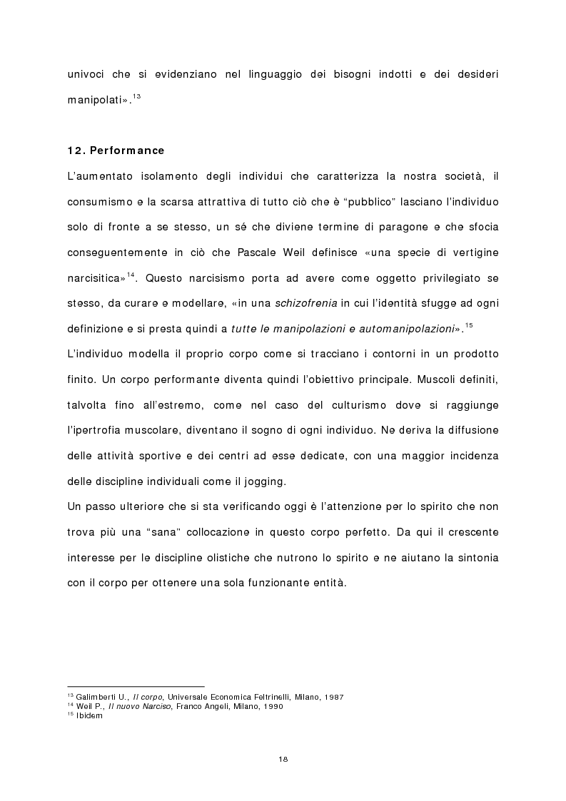Anteprima della tesi: Il corpo stampato, Pagina 13