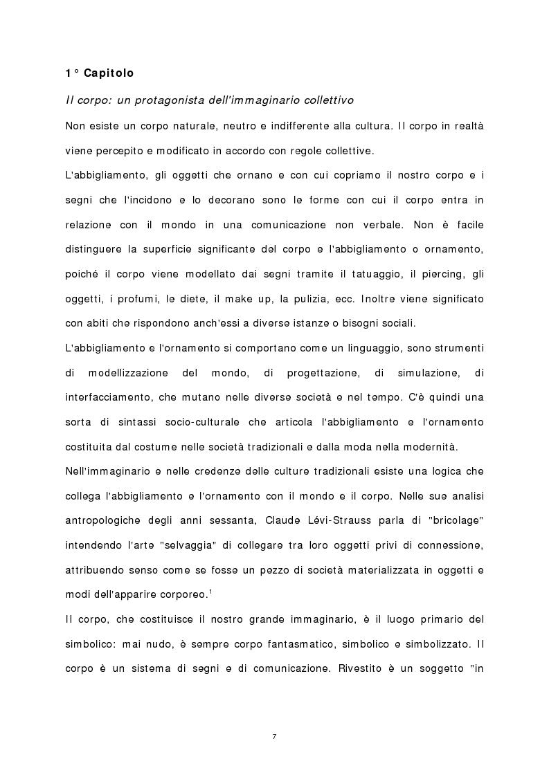 Anteprima della tesi: Il corpo stampato, Pagina 2