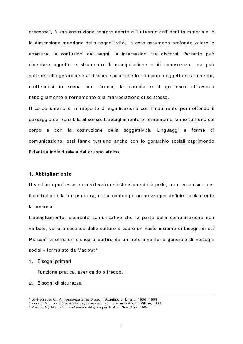 Anteprima della tesi: Il corpo stampato, Pagina 3