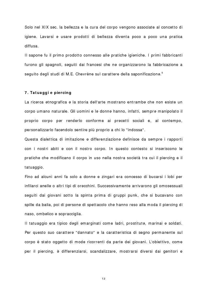 Anteprima della tesi: Il corpo stampato, Pagina 8