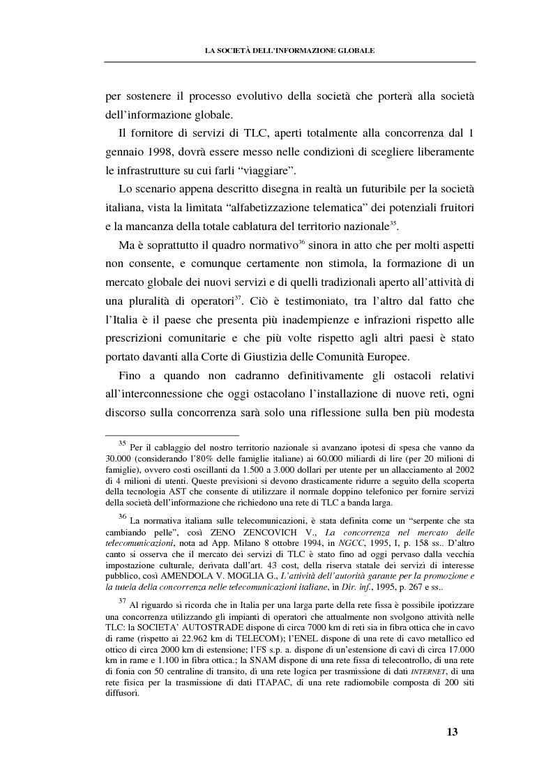 Anteprima della tesi: La responsabilità contrattuale ed aquiliana del fornitore di servizi telematici, Pagina 12