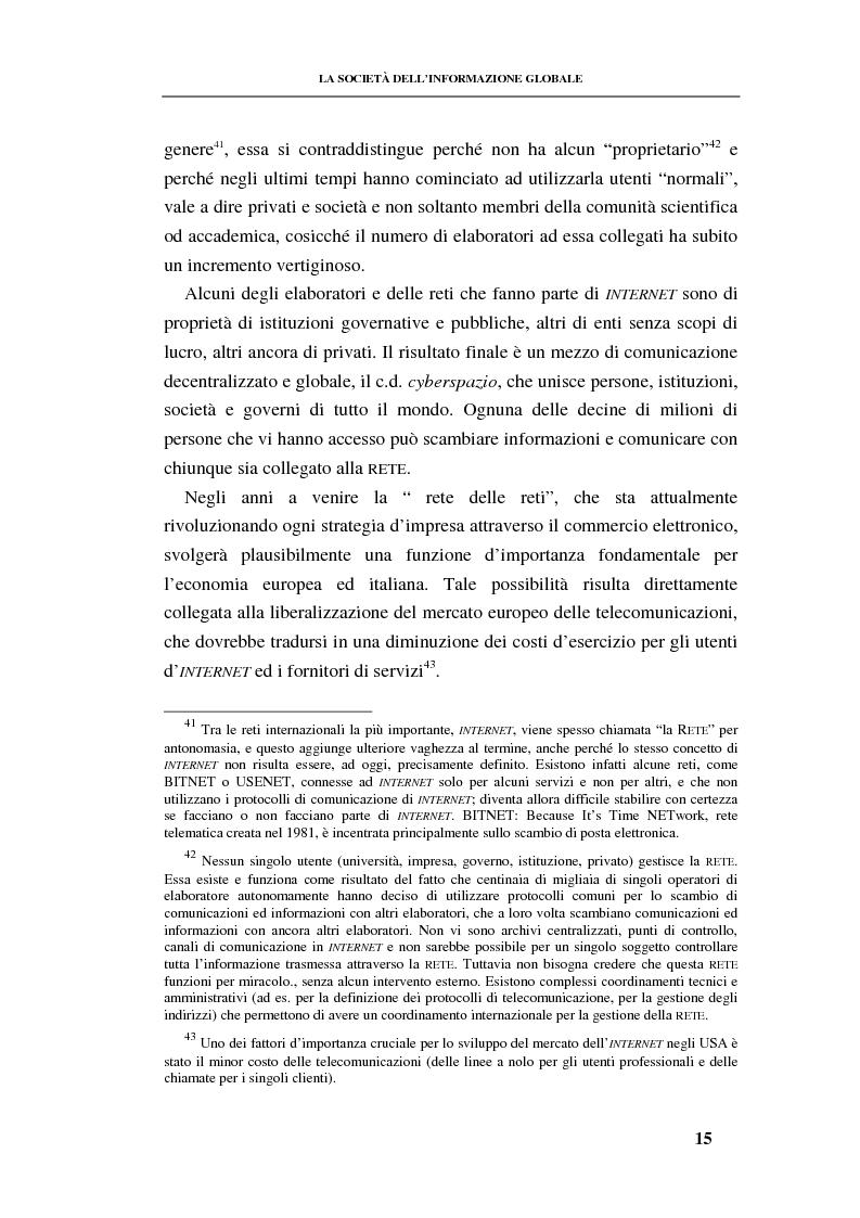 Anteprima della tesi: La responsabilità contrattuale ed aquiliana del fornitore di servizi telematici, Pagina 14