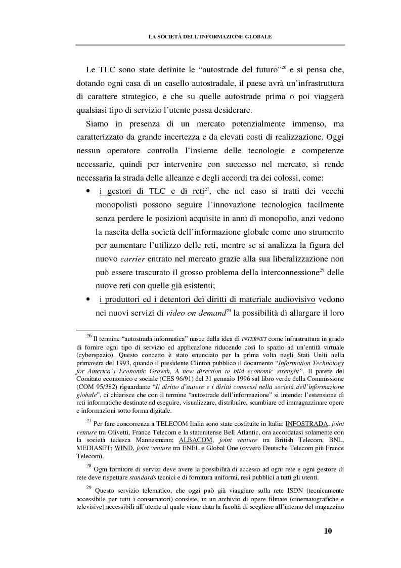 Anteprima della tesi: La responsabilità contrattuale ed aquiliana del fornitore di servizi telematici, Pagina 9