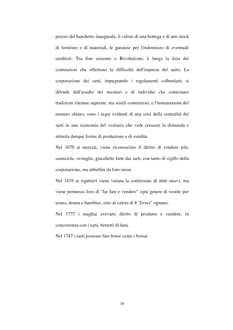 Anteprima della tesi: Alta moda e pret à porter. Dalla couture francese allo stile italiano, Pagina 14