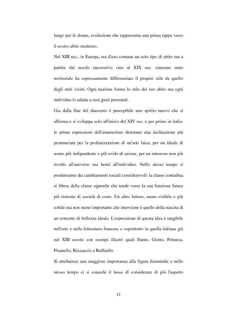 Anteprima della tesi: Alta moda e pret à porter. Dalla couture francese allo stile italiano, Pagina 7
