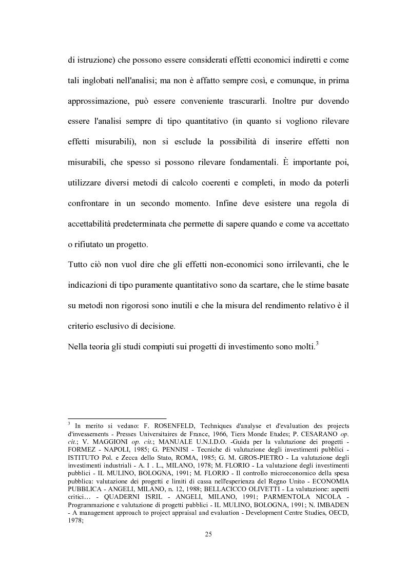 Anteprima della tesi: Valutazione dei progetti di investimento industriali, Pagina 10