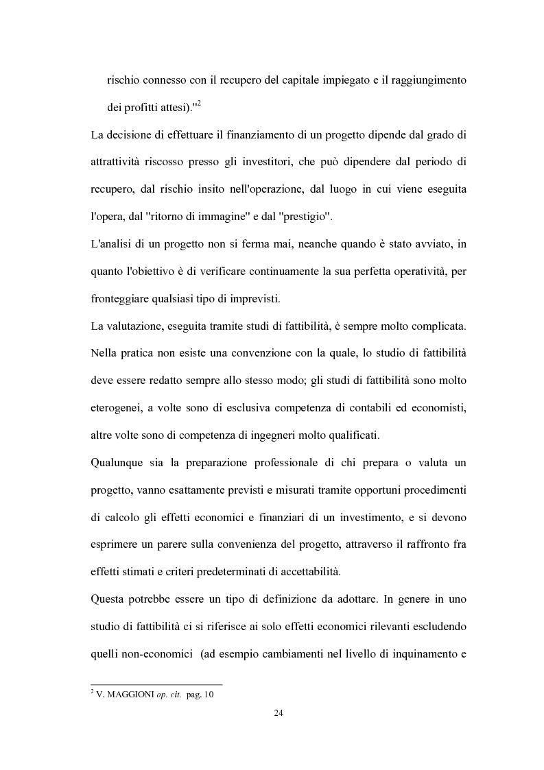Anteprima della tesi: Valutazione dei progetti di investimento industriali, Pagina 9