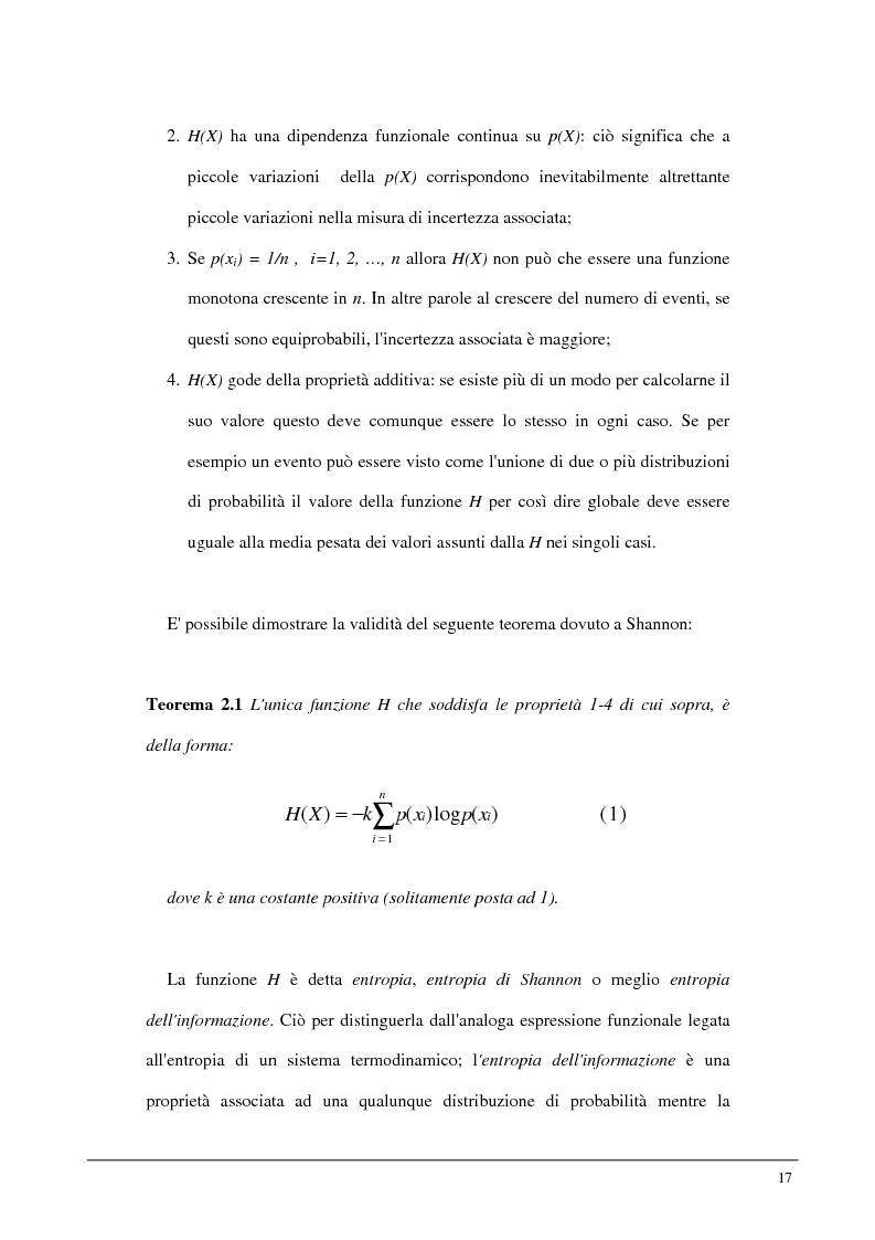 Anteprima della tesi: Metodi statistici ed entropici per l'apprendimento e l'analisi automatica di immagini digitali, Pagina 13