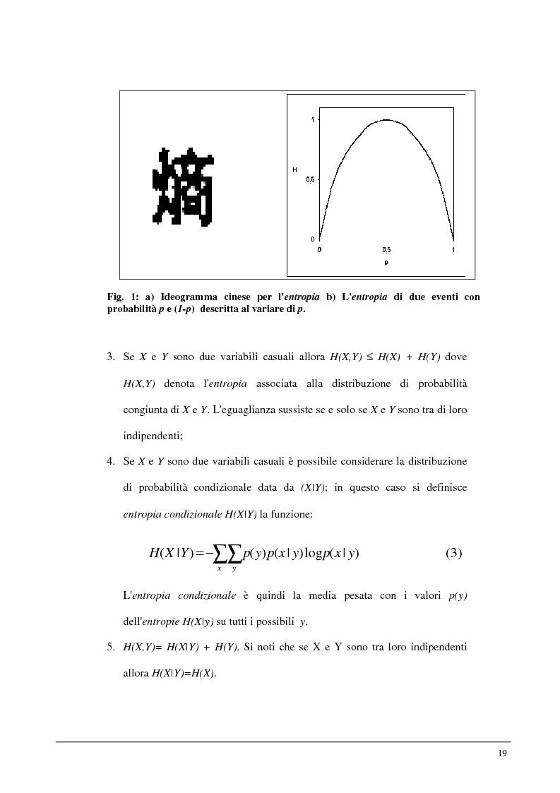 Anteprima della tesi: Metodi statistici ed entropici per l'apprendimento e l'analisi automatica di immagini digitali, Pagina 15