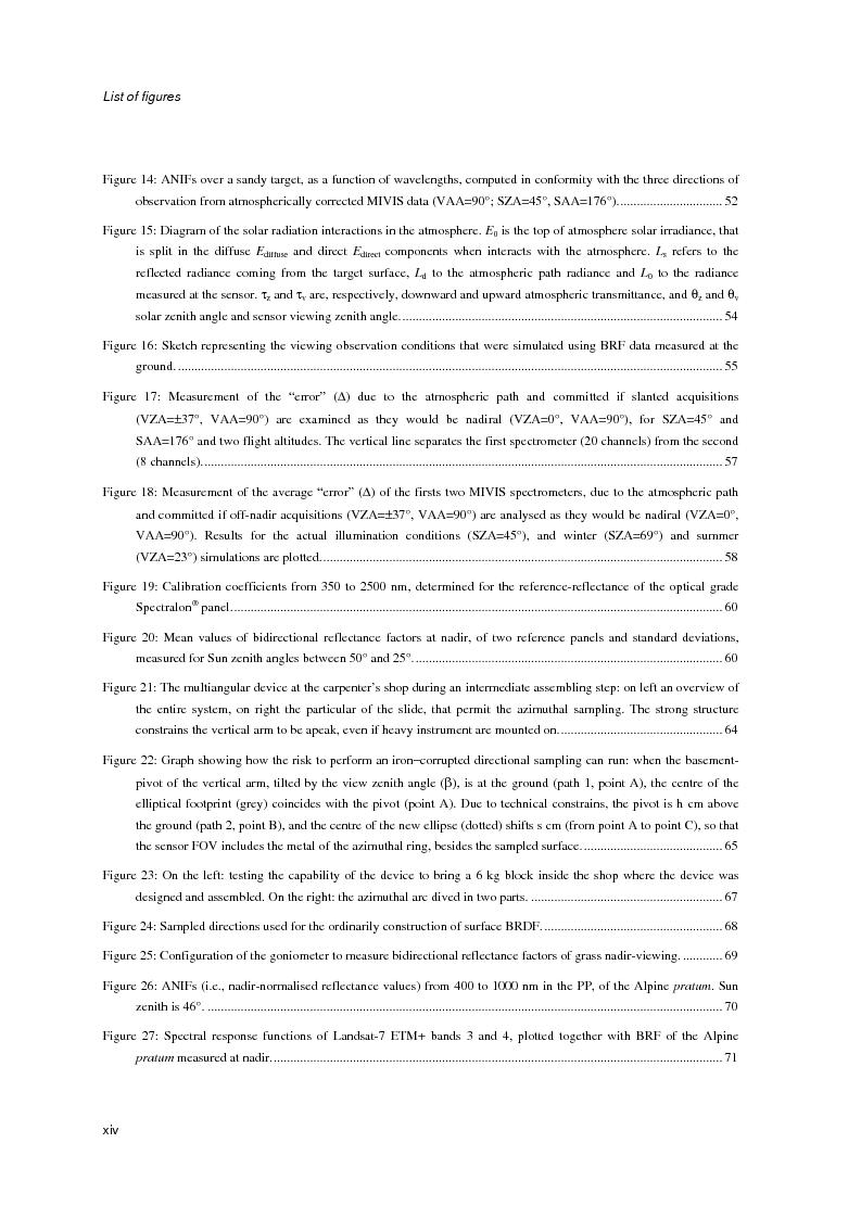 Anteprima della tesi: Anisotropia del campo della radiazione riflessa sulle superfici naturali, Pagina 8