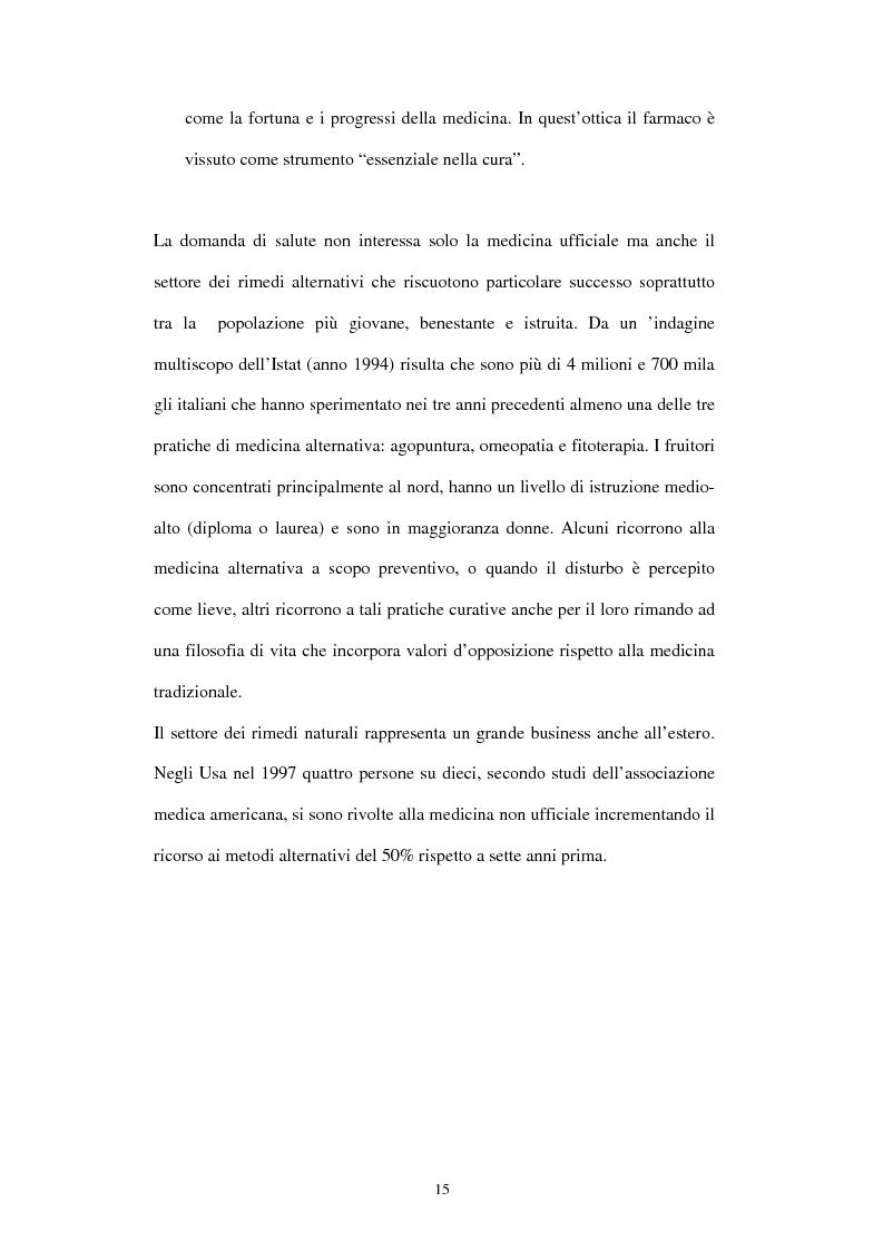 Anteprima della tesi: Comunicazione e immagine nell'industria farmaceutica, Pagina 12