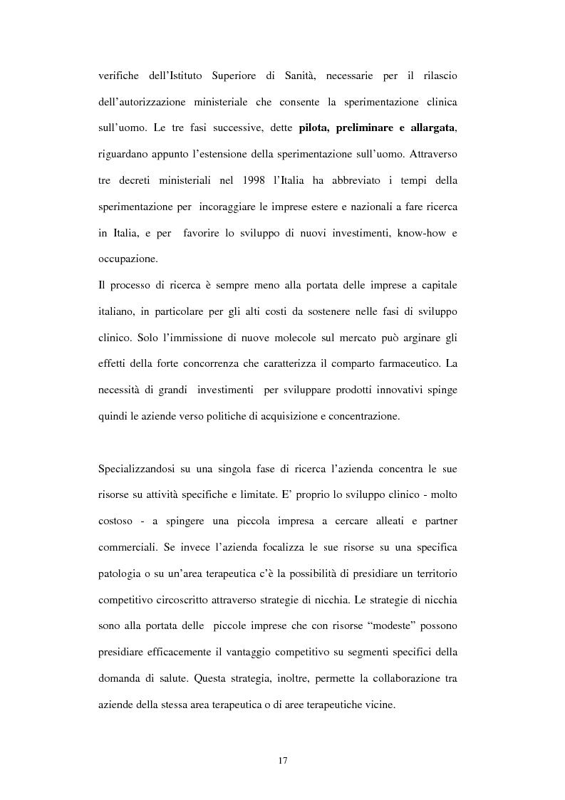 Anteprima della tesi: Comunicazione e immagine nell'industria farmaceutica, Pagina 14