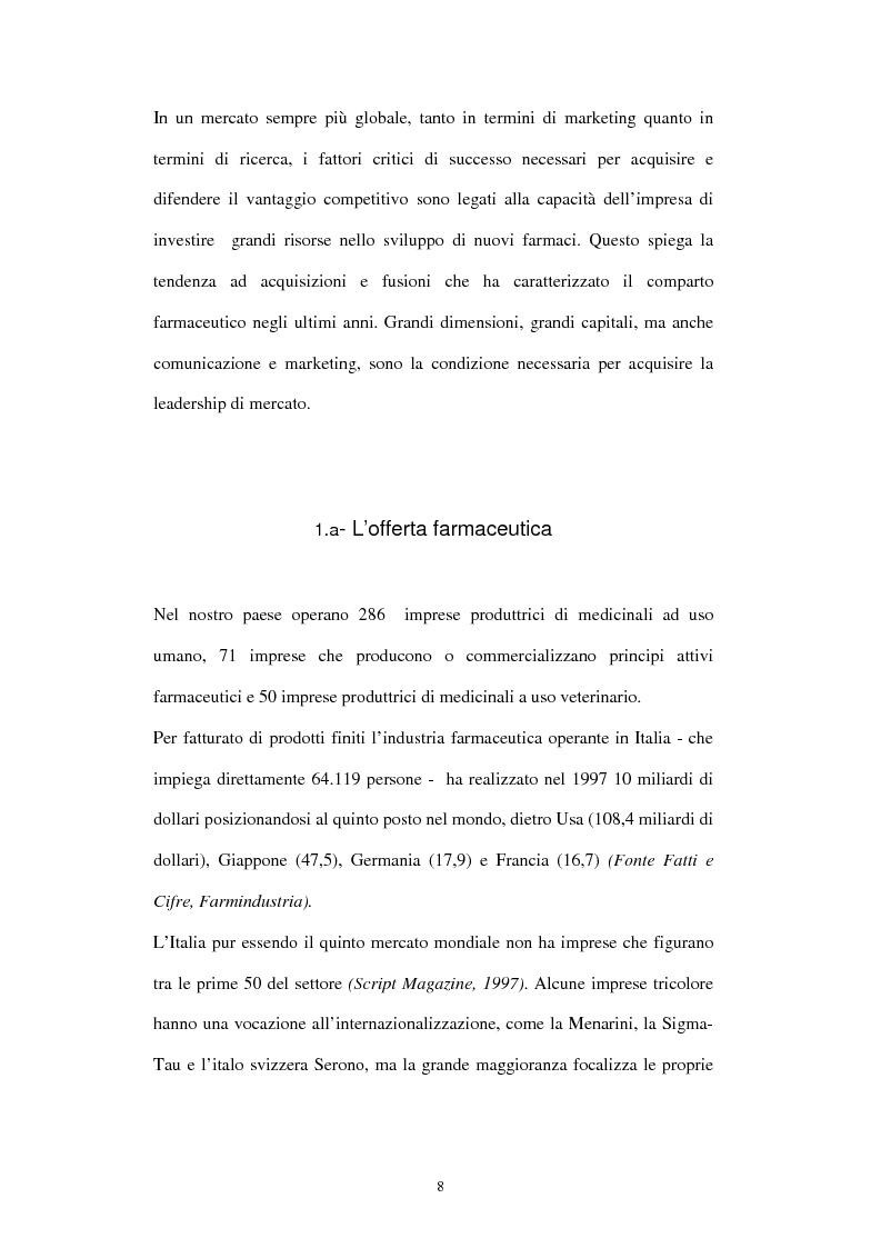 Anteprima della tesi: Comunicazione e immagine nell'industria farmaceutica, Pagina 5