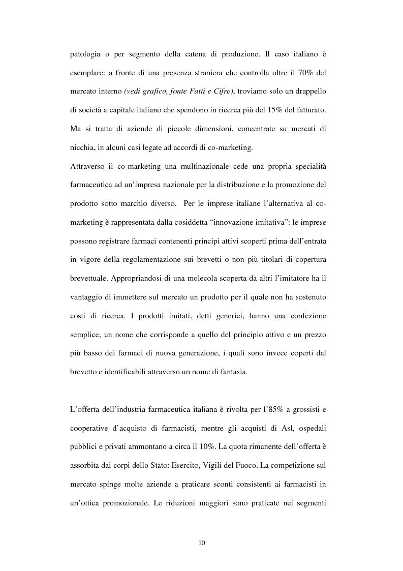 Anteprima della tesi: Comunicazione e immagine nell'industria farmaceutica, Pagina 7