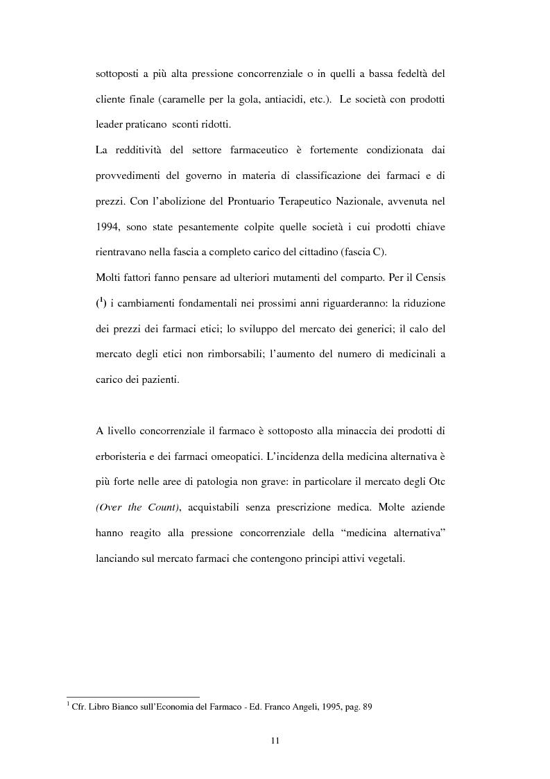 Anteprima della tesi: Comunicazione e immagine nell'industria farmaceutica, Pagina 8